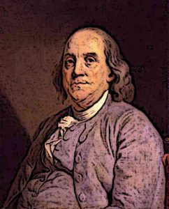 Benjamin Franklin Founding Father and President of United States of America