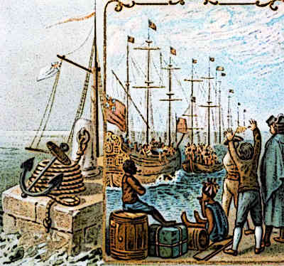 Boston Tea Party Tea Act 1773, Protests against the British Tea Act (Tax)