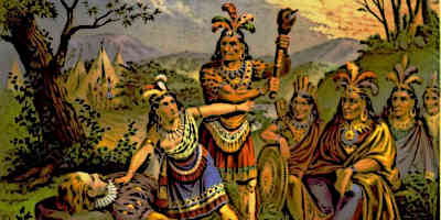 Famous Native Americans - Native American Indians Pocahontas