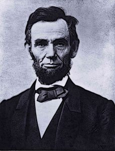 Abraham Lincoln President of United States of America