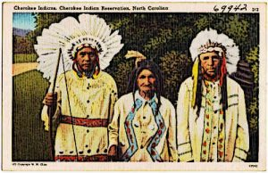 Cherokee Indian Reservation Native American Indians