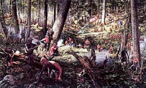 In 1754, the French and Indian War began