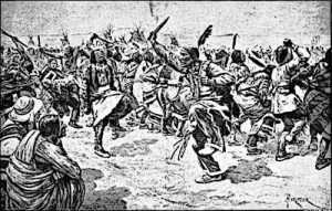 Ghost Dance of Native American Indians