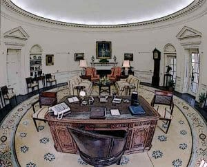 Oval Office 1981 White House