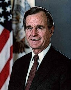 Vice-President-George-H-W-Bush-portrait-Before-Becoming-US-President