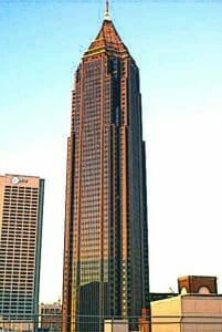 A 72-storey, late-modernist skyscraper located in downtown Dallas, Texas